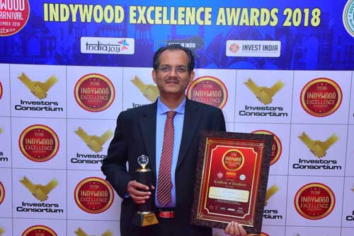 Professional Excellence in Obesity Bariatric Surgery and Diabetes Surgery awarded to Dr Padmakumar