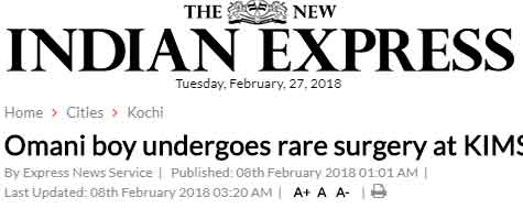 Rare Pheochromocytoma surgery News in Indian Express